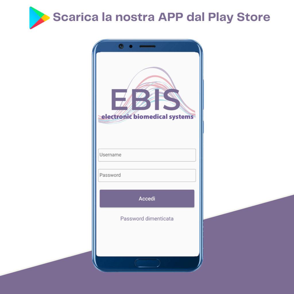 EBIS app scarica dal playstore
